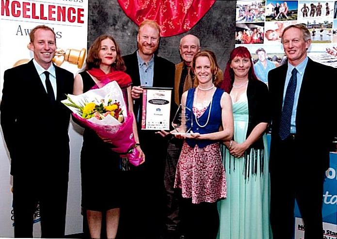Ecoteam wins business award