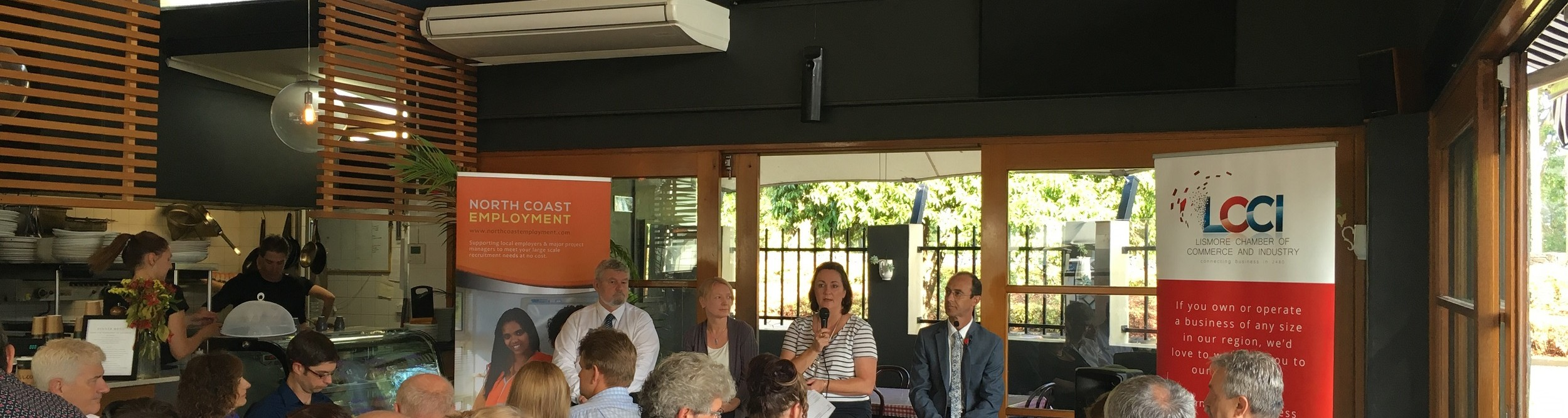 business breakfast lismore chamber of commerce and industry palate at the gallery