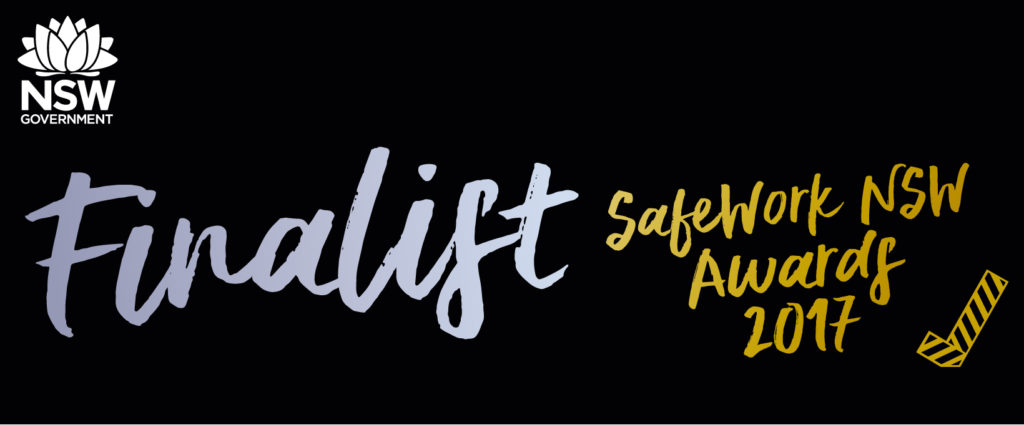 SafeWork NSW Awards state finalists 2017